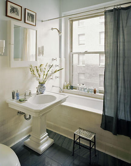 James Wagman Architect, LLC - Apartment - Riverside Dr eclectic bathroom