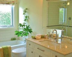 Fresh bathroom eclectic-bathroom