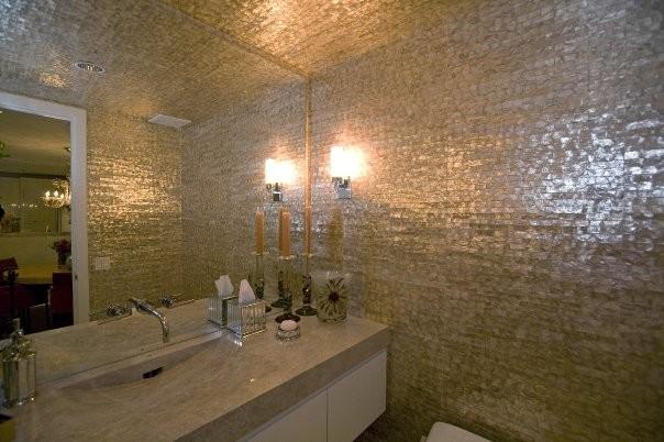 City Apartment eclectic-bathroom