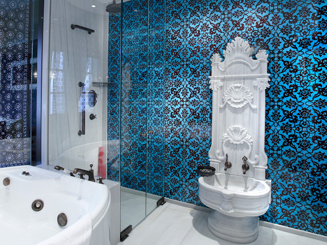 Turkish Style Bathroom Home Design Eclectic