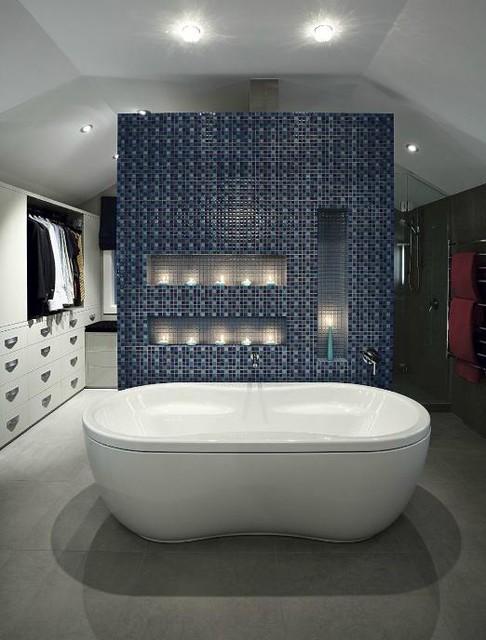 Eclectic Bathrooms contemporary-bathroom