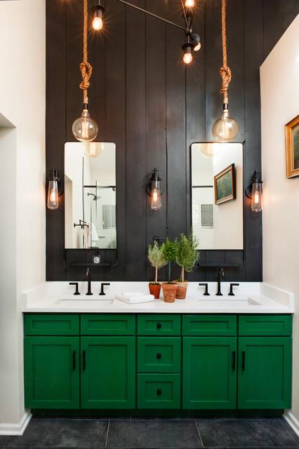 Hunter Green Master Bedroom