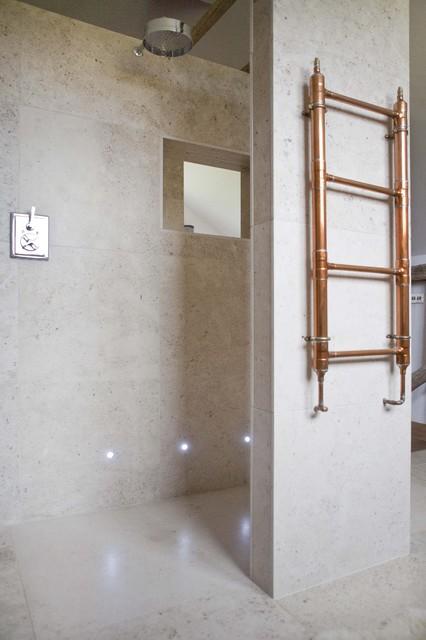 Eclectic Farmhouse Bathroom farmhouse-bathroom