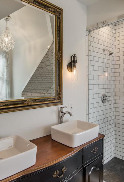 Eclectic gable bath eclectic bathroom nashville by for Bath remodel nashville