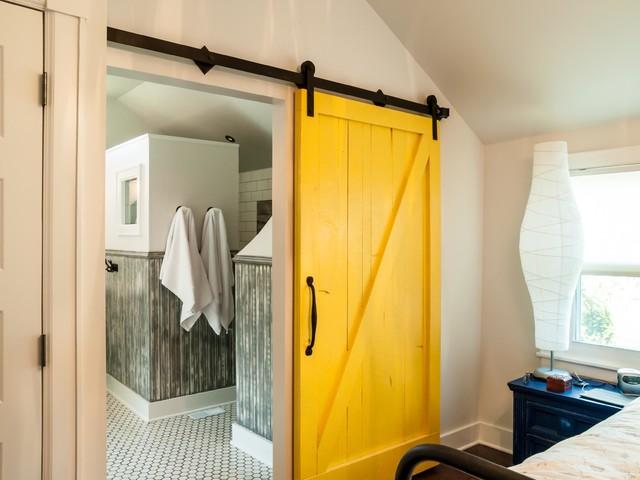 Eclectic master bath rehab contemporary bathroom for Bathroom rehab