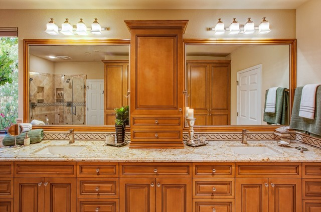 Eclectic Remodel traditional-bathroom