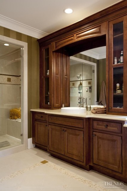 Eco-Friendly Master Suite - Transitional - Bathroom - by J. Poles Interiors, Inc.