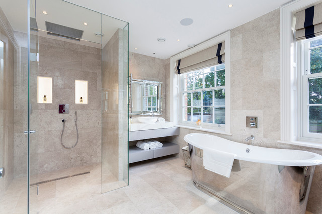 Eco Home Transitional Bathroom London By Chris Snook