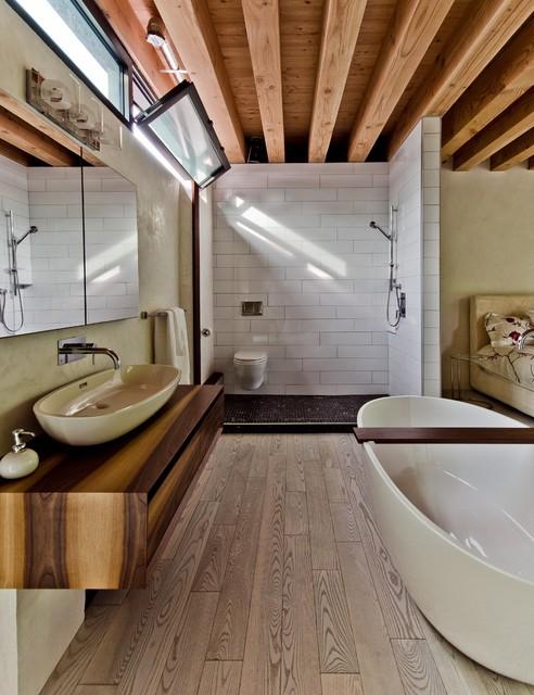 Ecologia House modern-bathroom