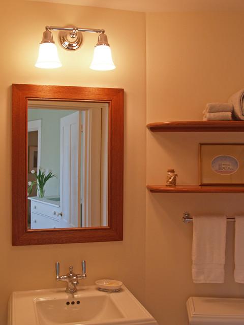 Edgartown Dormer Renovation Bathroom Boston By Katie Hutchison Studio