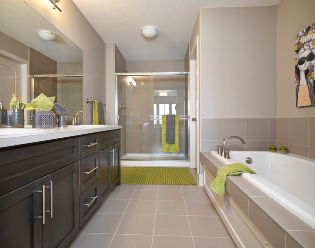 Edge a showhome in ambleside contemporary bathroom for Bathroom ideas edmonton