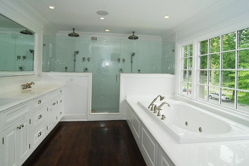Brian Double Pony Wall With Shower Door