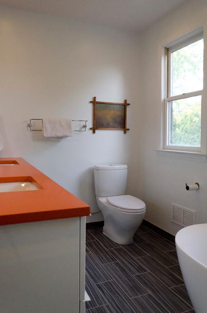 卫生间细节混搭风格效果图