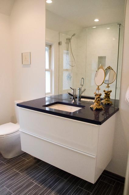 卫生间橱柜混搭风格装饰设计图片