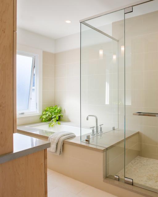 Edgewood House contemporary-bathroom