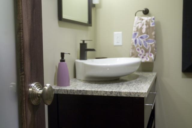 Edgy Bathroom contemporary-bathroom