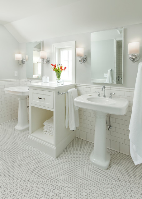 Edina Colonial Revival   Traditional   Bathroom ...