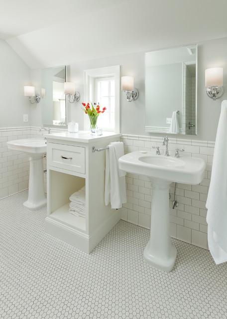 Edina Colonial Revival Traditional Bathroom
