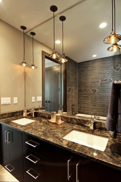 Edina Galleria Residences - Unit 1305 contemporary-bathroom