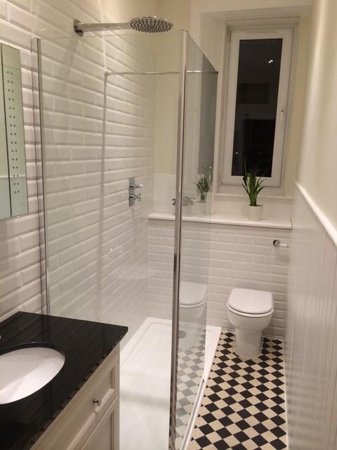 Edinburgh flat bathroom shower room for Bathroom ideas edinburgh