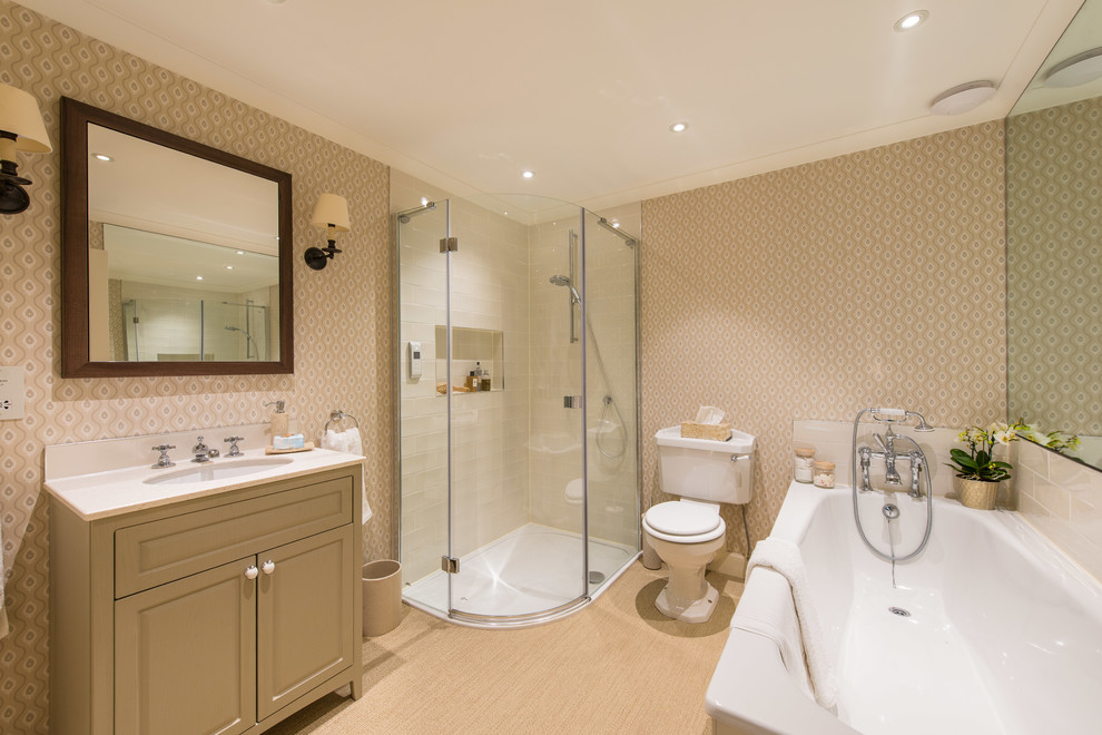 Edinburgh New Town Apartment Traditional Bathroom Other By Lally Walford Interiors