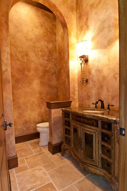 Edith project mediterranean bathroom houston by for Bathroom gate design