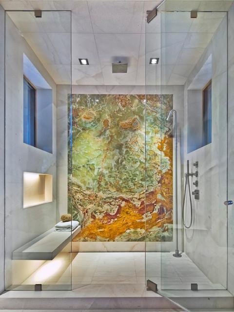 Edwards Residence modern-bathroom
