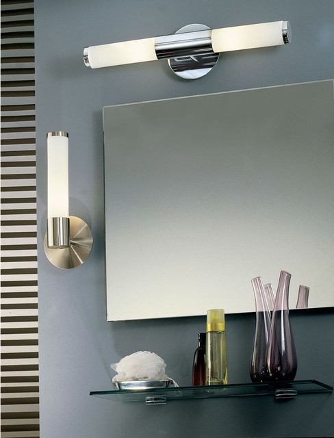 Eglo Palmera Chrome Wall Sconce Collection - Contemporary - Bathroom - Chicago - by Littman Bros ...