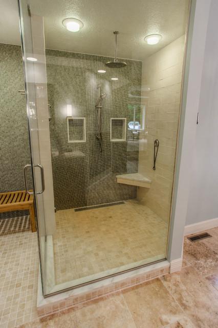 Eisenhower Transitional Master Bathroom Remodel Steam Shower Transitional Bathroom Other