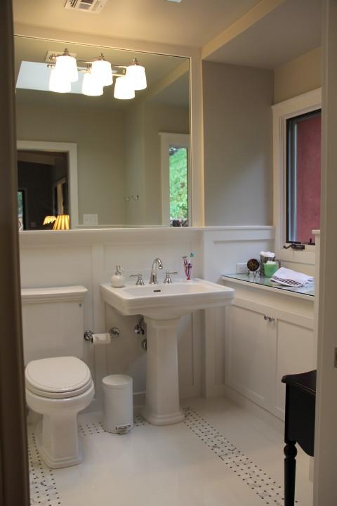 Bathroom - transitional bathroom idea in San Diego