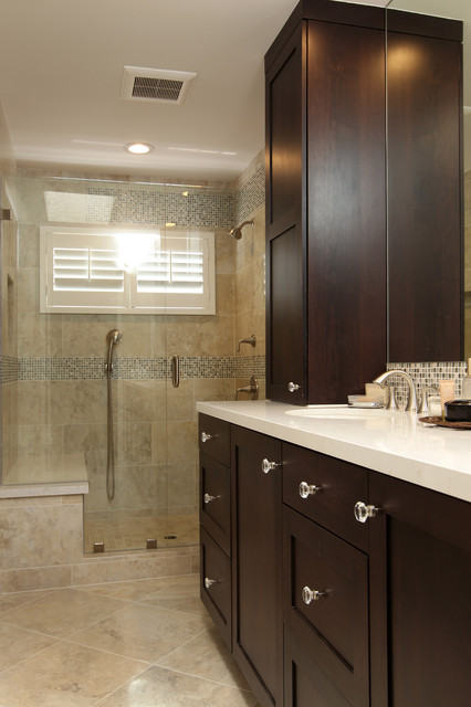 El Segundo Modern Master Bathroom Remodel Traditional Bathroom Other Metro By Custom
