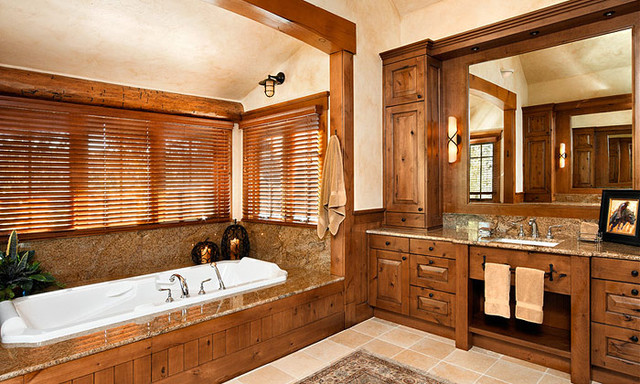 Eldorado Springs Ranch traditional bathroom