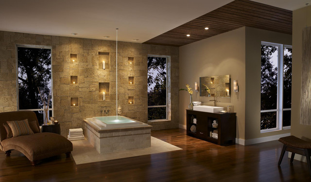 Eldorado Stone bathroom