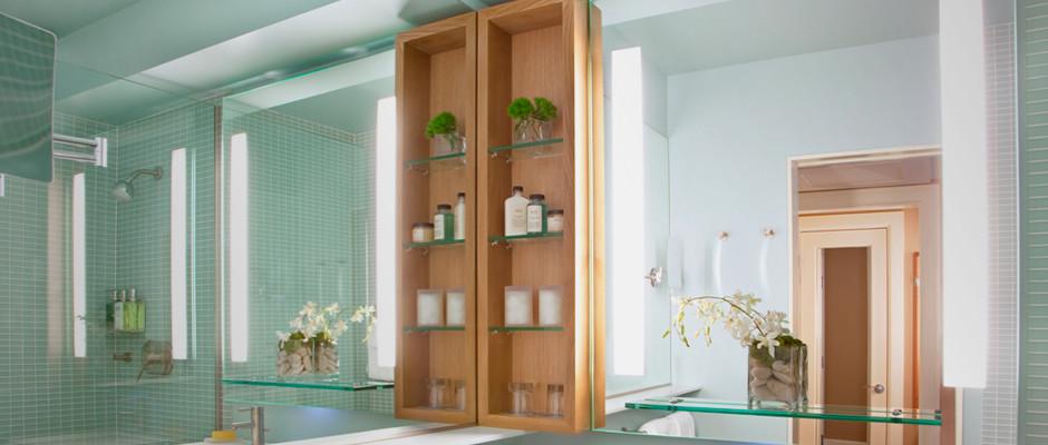 Electric Mirror Bathroom Design - Transitional - Bathroom ...