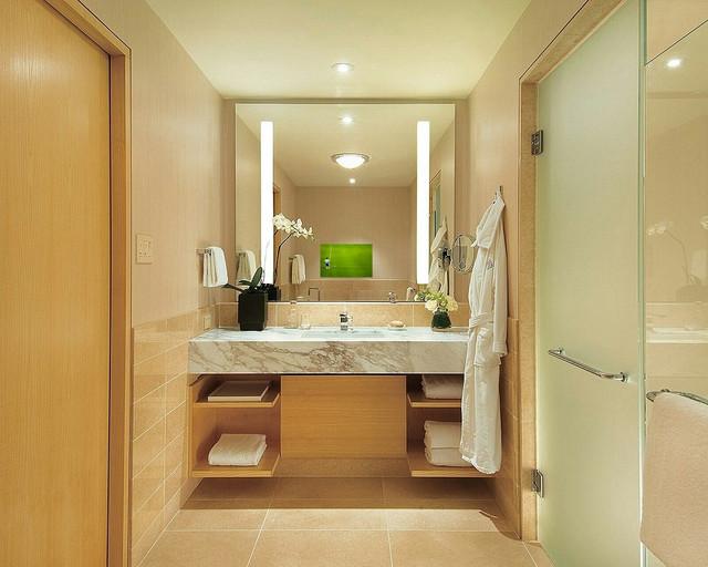 Creative Antique Mirror Over Tub Bathroom  Bathroom  Pinterest  Hexagons