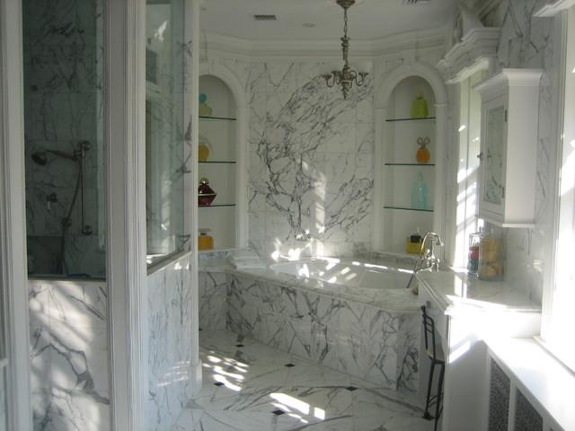 elegant bath traditional-bathroom