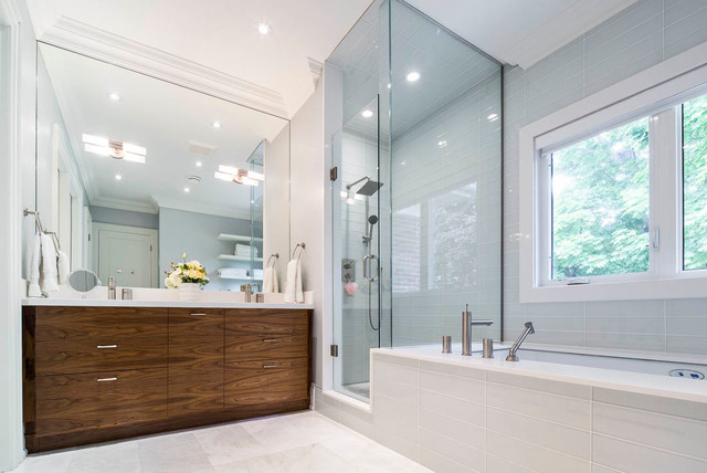 Elegant Bathroom Modern Bathroom Toronto By Cazan