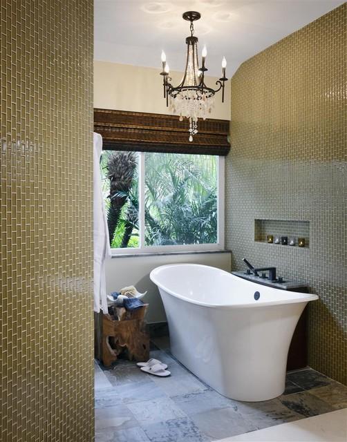 Elegant bathroom contemporary-bathroom