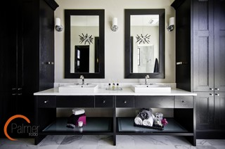Elegant Chic Bathroom modern-bathroom