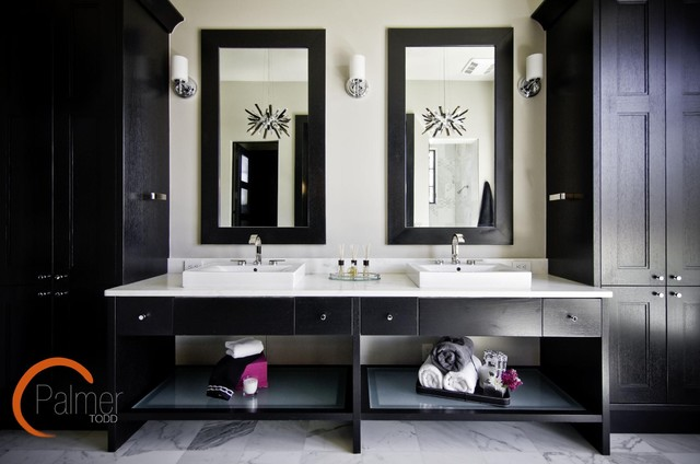 elegant chic bathroom - modern - bathroom - austin -palmer todd