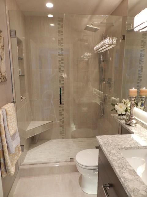 Elegant Ensuite Transitional Bathroom Vancouver By Miccaro Designs Fine Residential