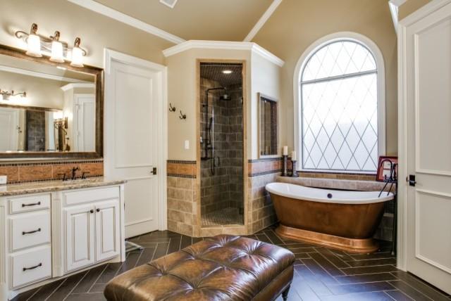 Elegant Home Remodel Plano Tx Traditional Bathroom