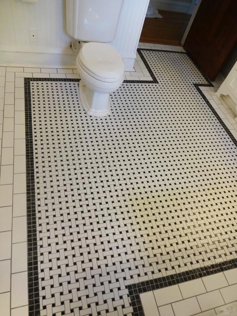 Elegant-Industrial Bath Remodel - Eclectic - Bathroom ...