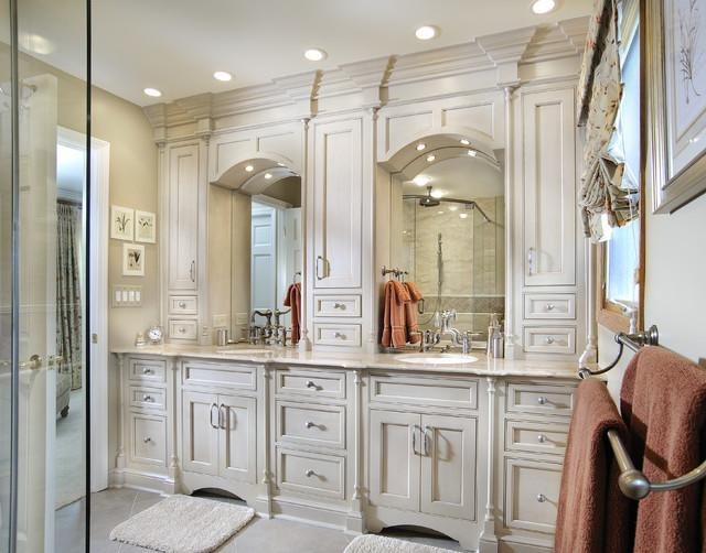 Elegant Master Traditional Bathroom, Elegant Master Bathrooms