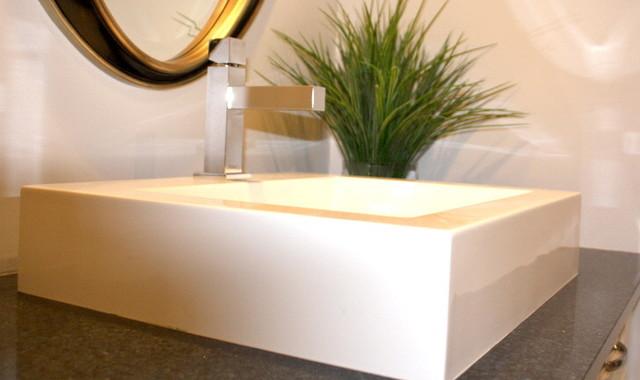 Elegant Master Bathroom contemporary-bathroom