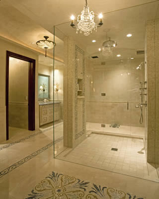 luxury contemporary bathroom suites