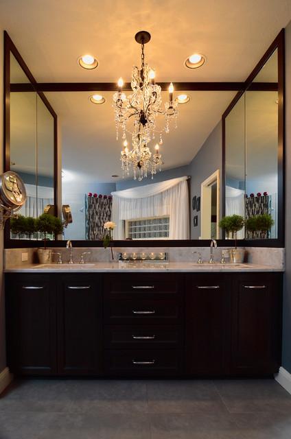 Elegant Master Bathroom Remodel Traditional Bathroom