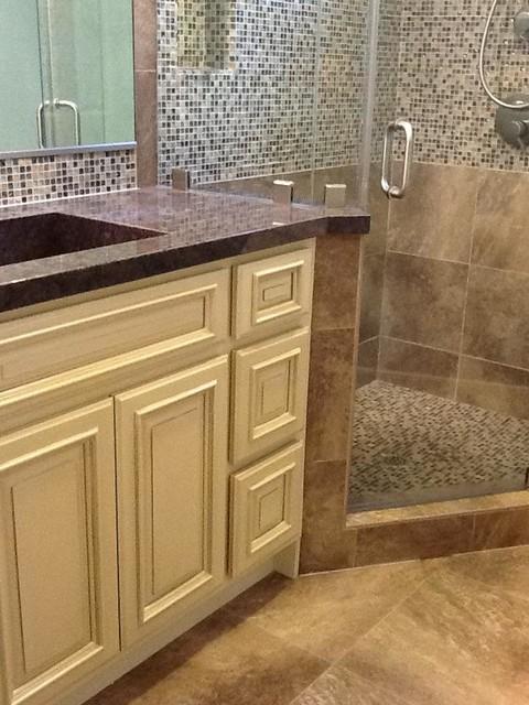 Elegant Master Bathroom Remodel transitional-bathroom