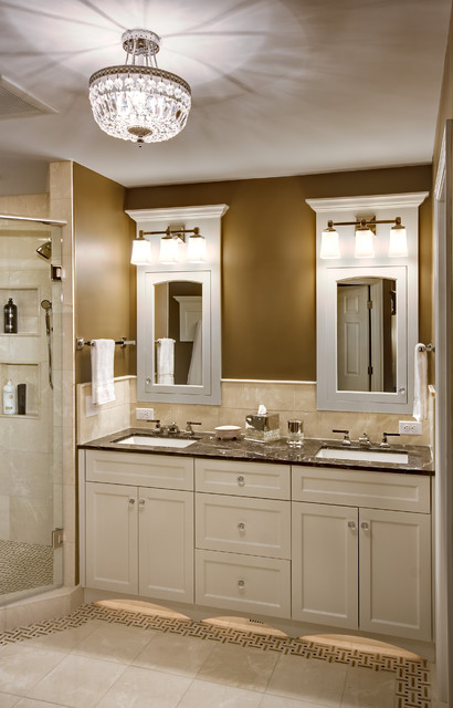 elegant master bathroom traditional bathroom