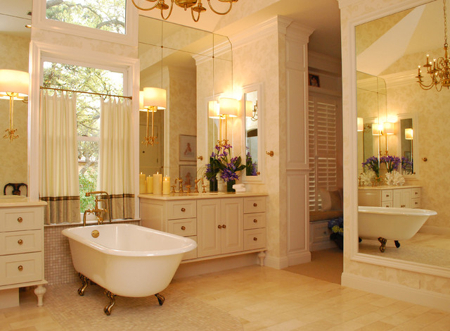 Elegant master suite traditional bathroom other by for Traditional master bathroom ideas